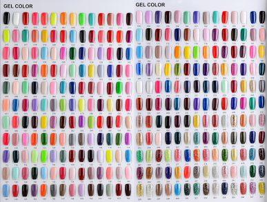 308 gel polish (stock color ,MOQ 6 pieces per color)